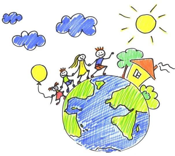 Family globe