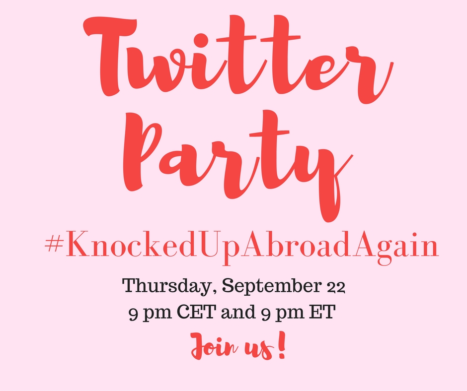 Twitter Party Sept 22