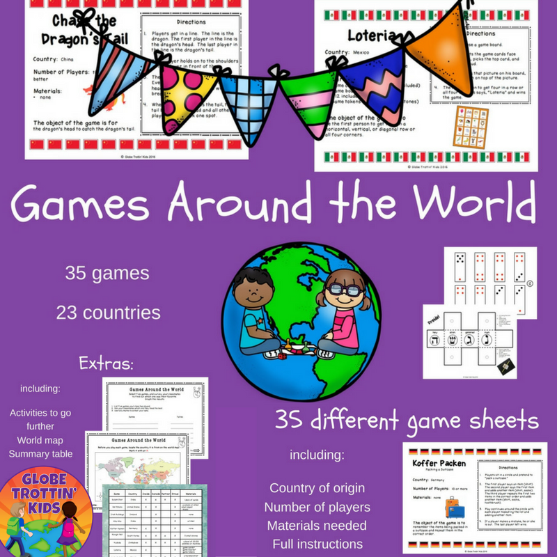 Games Around The World—Knocked Up Abroad