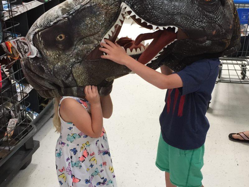 walmart dinosaurs